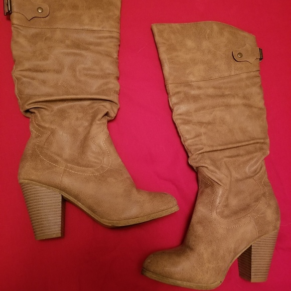 Rampage Shoes - Tan boots